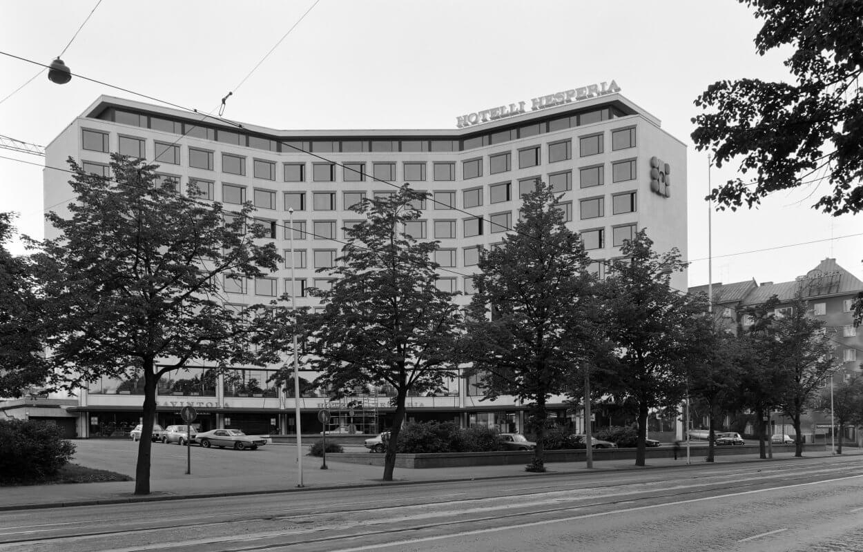 Hotelli Hesperia nimi palaa käyttöön